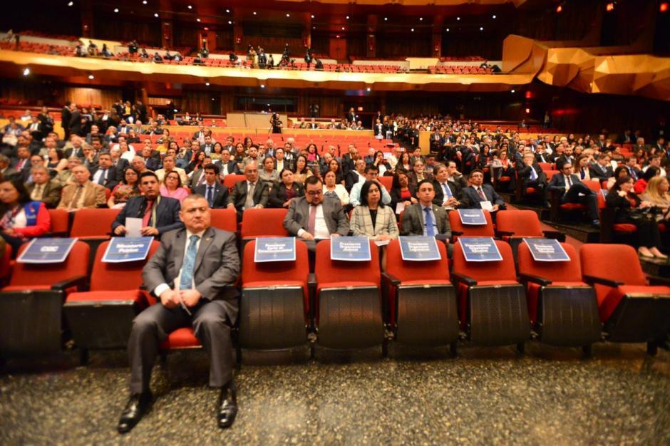 A la actividad estaba invitado el binomio presidencial, pero prefirió no asistir. (Foto: Jesús Alfonso/Soy502)