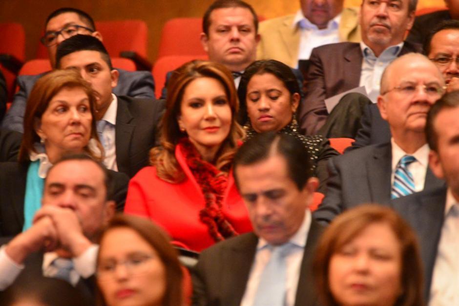 La precandidata Zury Ríos también estuvo presente en la actividad. (Foto: Jesús Alfonso/Soy502)