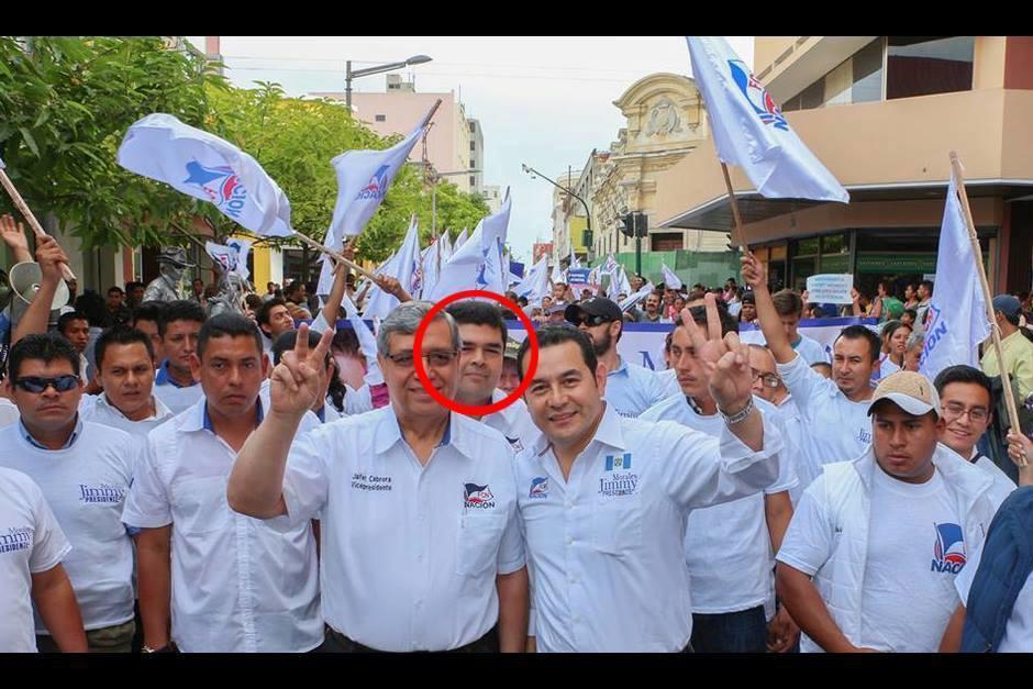 Jafeth Cabrera Cortés, hijo del vicepresidente, ocupa la segunda casilla en el listado de candidatos a diputados por el Listado Nacional. (Foto: archivo/Soy502)