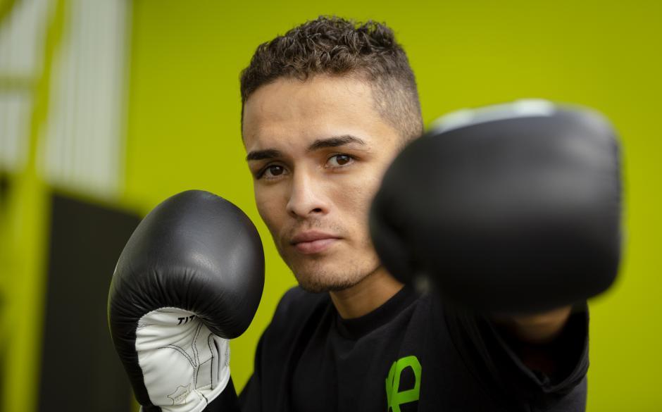 José Benito Peláez viene desde México para presentarse en la Noche de Boxeo Profesional. (Foto: George Rojas/Soy502)