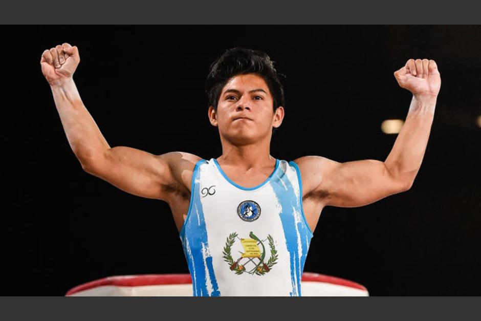El gimnasta guatemalteco Jorge Vega rechazó tajantemente que partidos políticos usen sus fotos para proselitismo. (Foto: Archivo/Soy502)