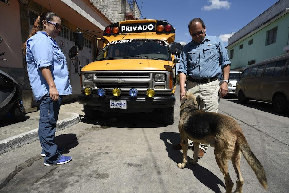 """MIshell y Pepe son los creadores del """"Can Bus"""". (Foto: Wilder López/Soy502)"""