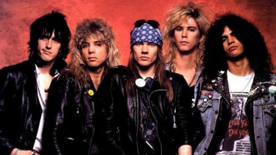 Guns N' Roses trabaja en nueva disco según Slash