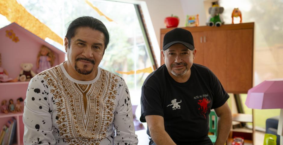 Álvaro y Plubio Aguilar compartieron su emoción por celebrar sus 40 años y hacerlo a beneficio de una gran causa. (Foto: George Rojas/Soy502)