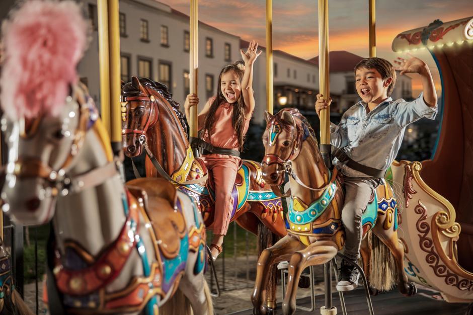 Cayalá también cuenta con áreas especiales para niños. (Foto: Ciudad Cayalá)