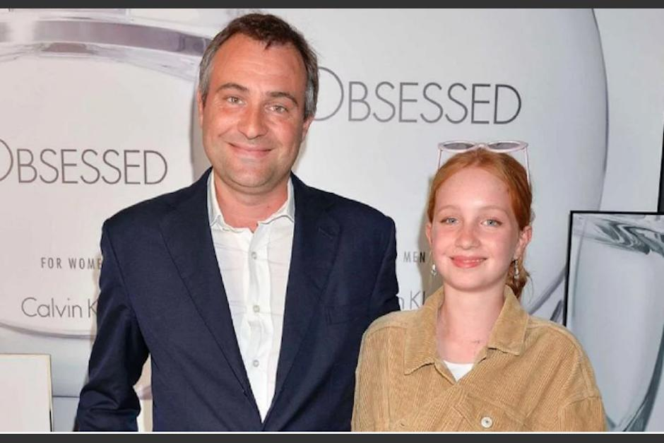Ben Goldsmith y su hija Annabel. (Foto: Tn)