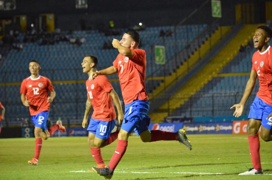 Costa Rica fue superior a la Selección Nacional. (Foto: Rudy Martínez/Soy502)