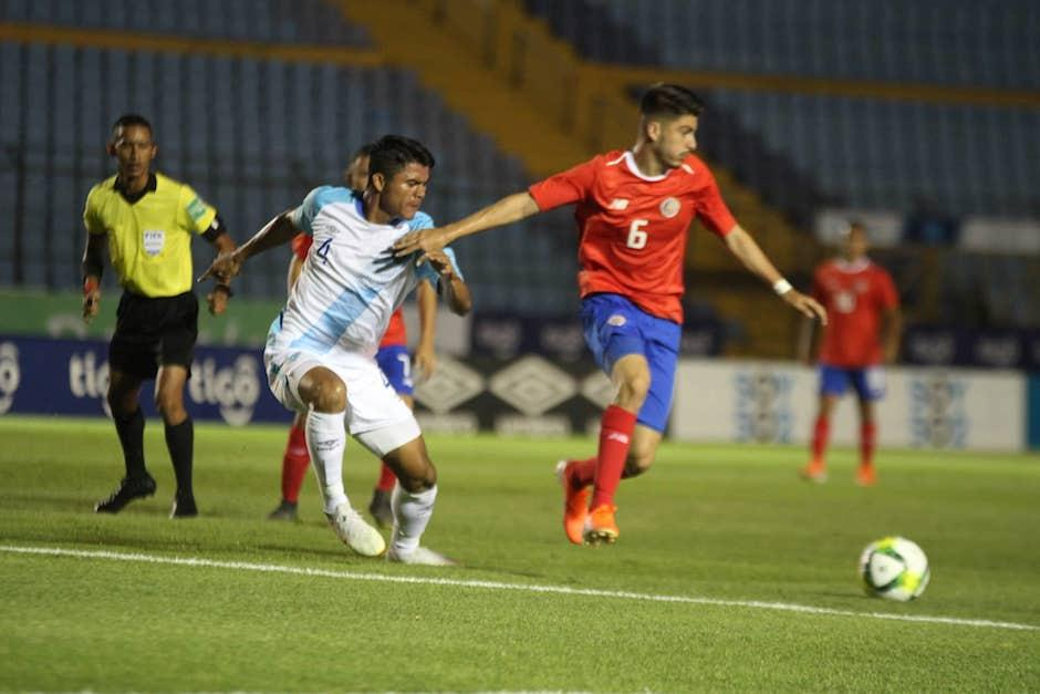 Guatemala no pudo vencer a Costa Rica. (Foto: Luis Barrios/Soy502)