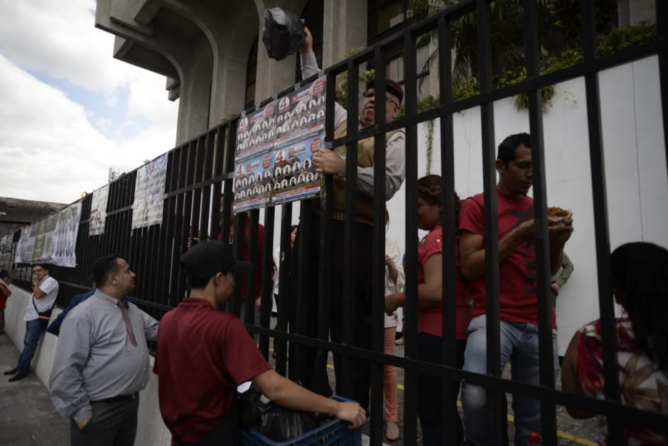 Los simpatizantes estarían vinculados con el partido oficial de FCN. (Foto: Wilder López/Soy502)