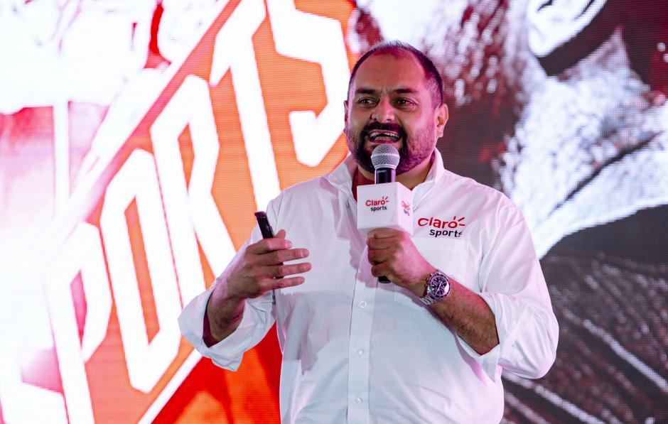 Marco Rodas, director de mercadeo deportivo Claro, adelantó la inclusión de más disciplinas deportivas. (Foto: George Rojas/Soy502)