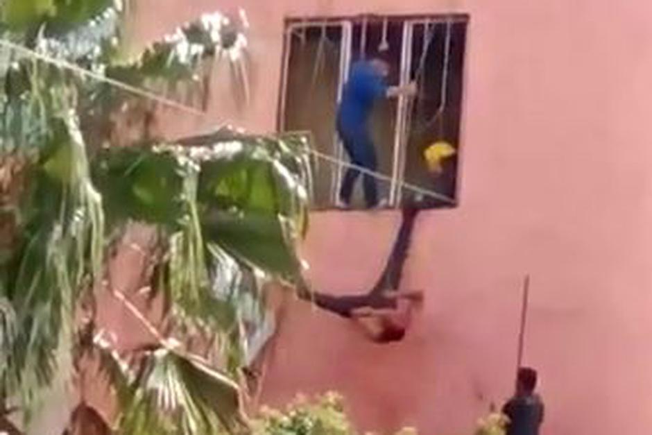 Al canto de ¡Dale, dale, dale!, golpean a ladrón en Jalisco