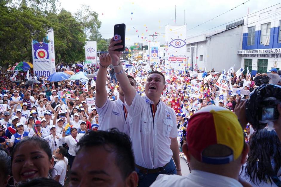 El hijo de Mario Estrada busca la reelección por la alcaldía de Jalapa. (Foto: Twitter/Mario Estrada Jr)