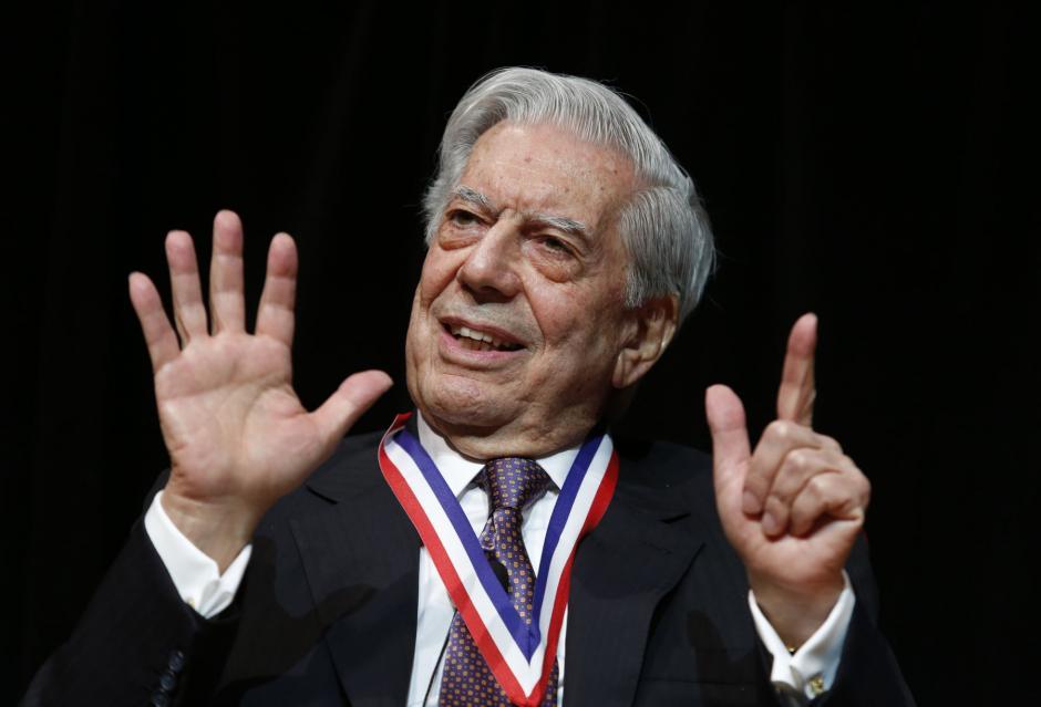 Mario Vargas Llosa escribió un libro acerca de Guatemala. (Foto: AFP)