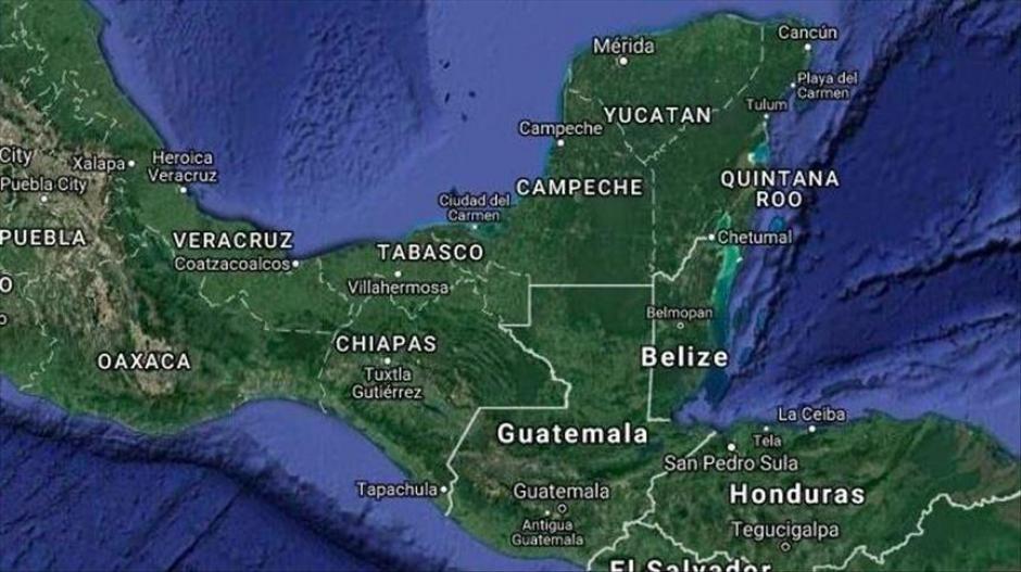 Guatemala y Belice luchan por el territorio. (Foto: Google Maps)