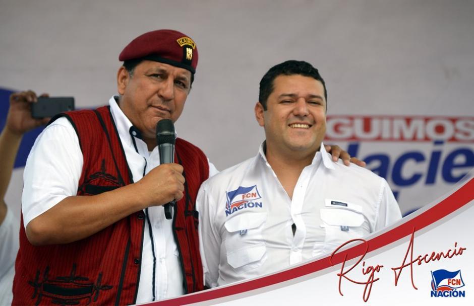 Asencio se postula con el FCN para ser alcalde de Salamá, Baja Verapaz. (Foto: FCN Salamá)