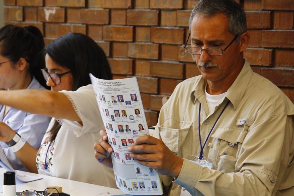 En la papeleta blanca la población guatemalteca elige presidente y vicepresidente. (Foto: Alexis Batres/Soy502)