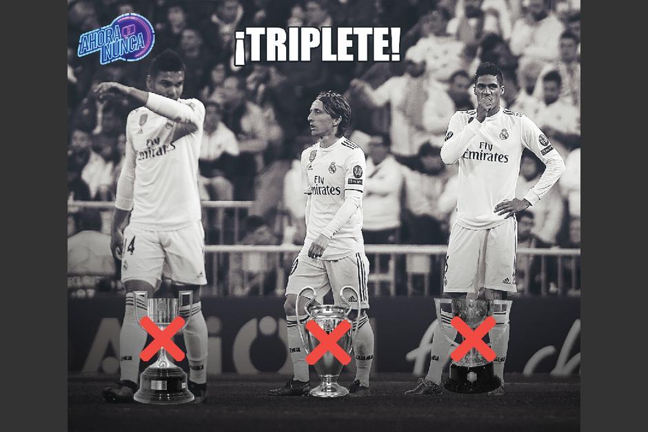Algunos señalados en el Real Madrid. (Foto: Twitter)