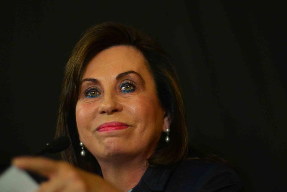 Sandra Torres es interlocutora en una de las escuchas telefónicas. (Foto: archivo/Soy502)