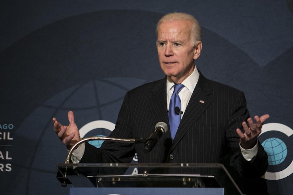 El exvicepresidente de los EE.UU., Joe Biden, lanza un mensaje al TSE. (Foto: Archivo/Soy502)