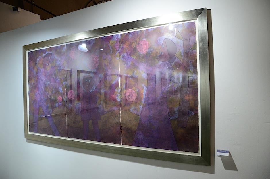 Un total de 64 piezas representan su obra desde la década de los 20 a la de los 80.  (Foto: Selene Mejía/Soy502)