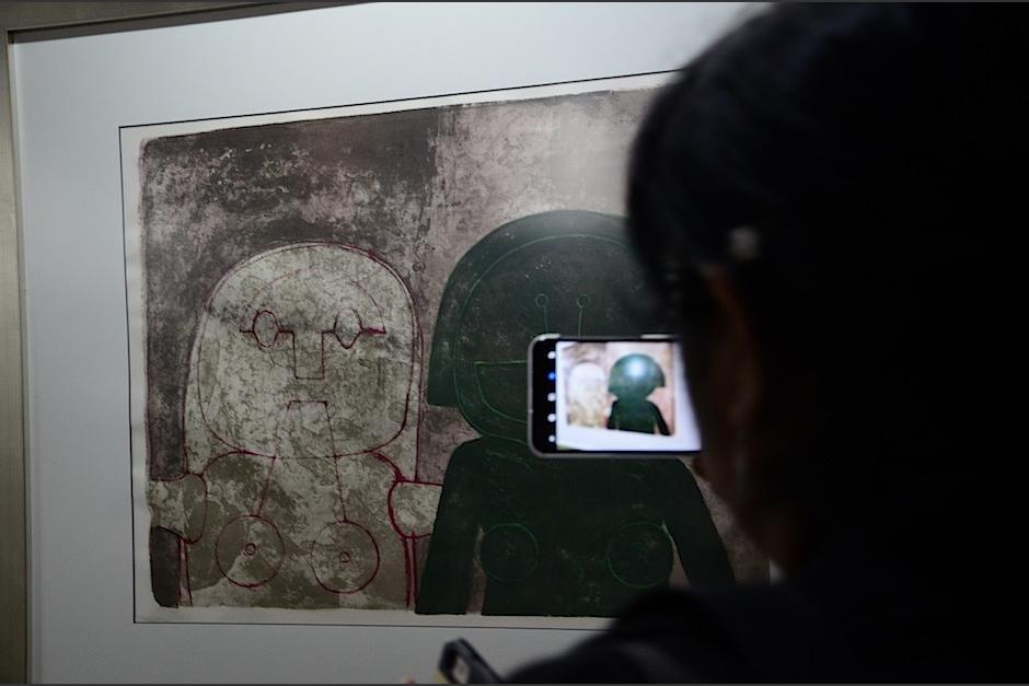 Una importante exposición del mexicano Rufino Tamayo está en Guatemala. (Foto: Selene Mejía/Soy502)