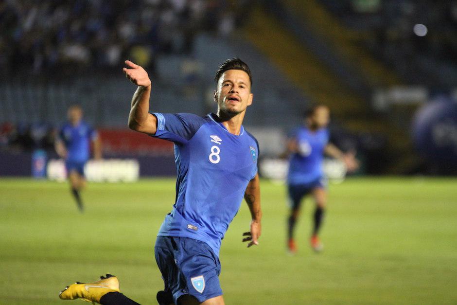Stefano Cincotta anotó el gol de la victoria. (Foto: Luis Barrios/Soy502)