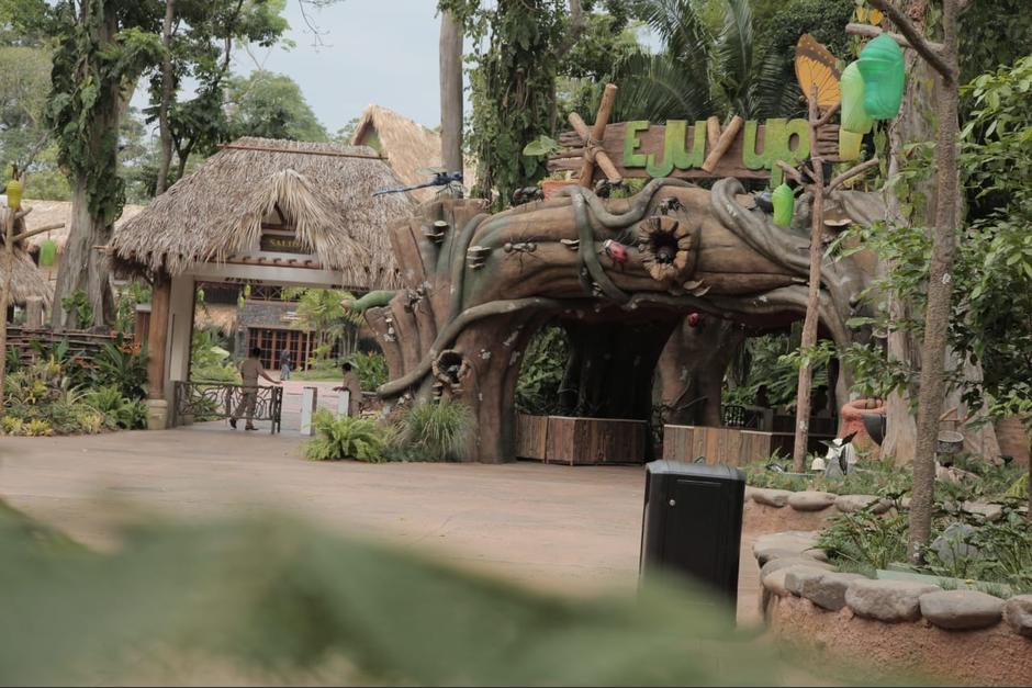 El parque temático tiene una capacidad para 5 mil visitantes. (Foto: Victor Xiloj/Soy502)