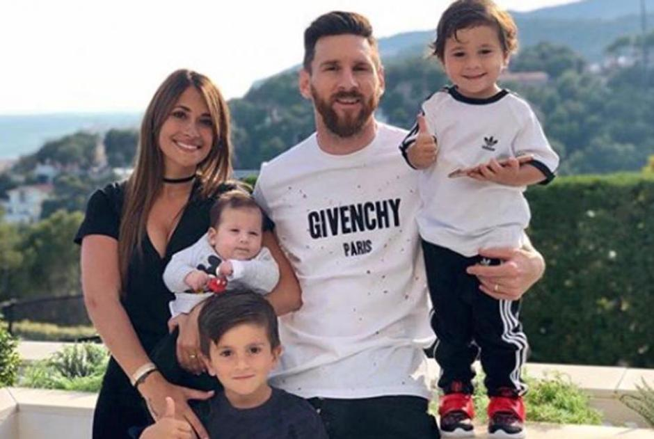Messi y sus hijos enamoran a sus fans con esta fotografía