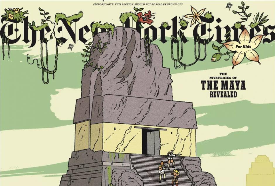 La edición busca que las nuevas generaciones se impresionen e interesen por la cultura maya. (Foto: New York Times)