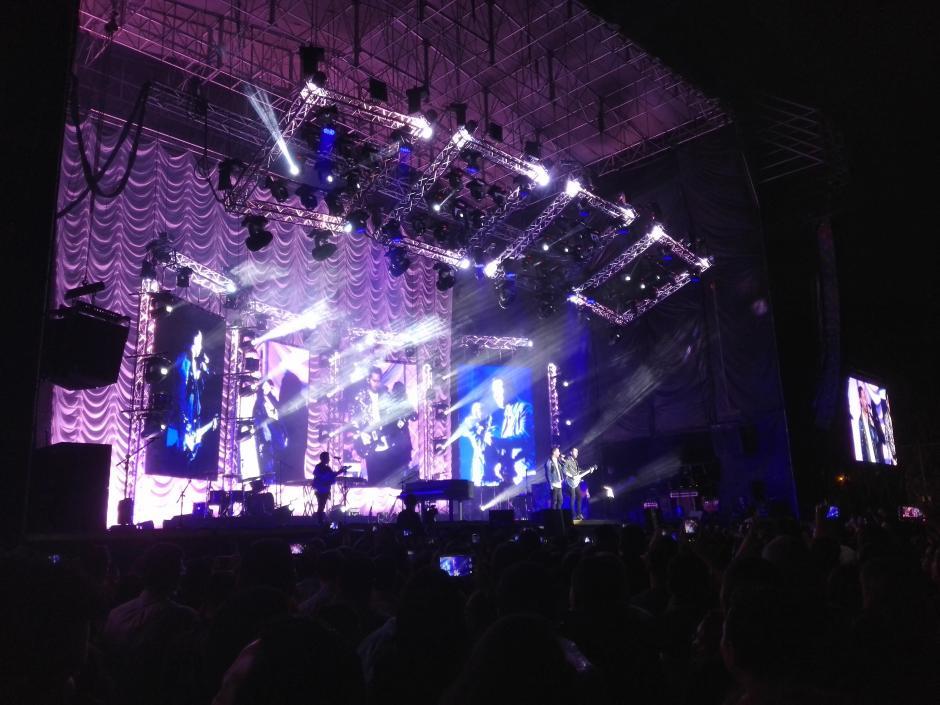 Camila también enamoró con sus melodías a los asistentes. (Foto: Soy502)