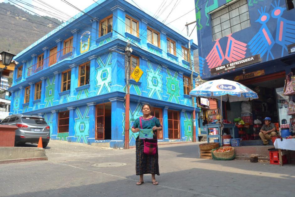 El proyecto busca que toos los hogares y negocios de Palopó cuentan la historia de la localidad a través del arte. (Foto: West Elm)
