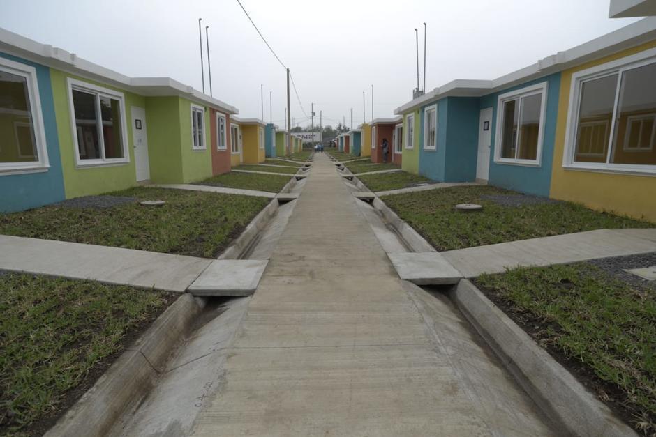Las casas fueron entregadas este miércoles por el Gobierno. (Foto: Wilder López/Soy502)