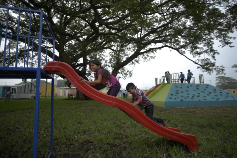 El residencial contará con juegos para los niños.  (Foto: Wilder López/Soy502)