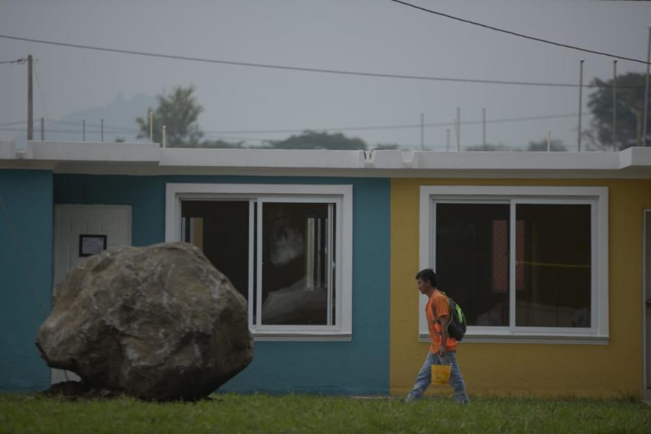 Las casas están ubicas en la Finca la Industria, en Escuintla. (Foto: Wilder López/Soy502)