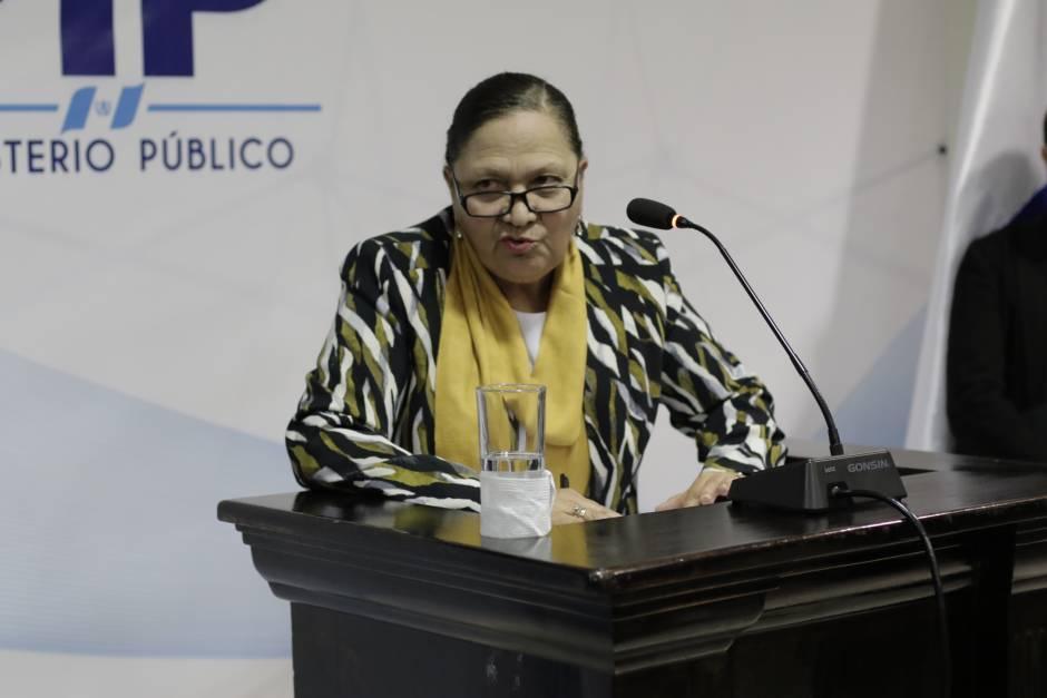 María Consuelo Porras cumple este 17 de mayo de 2019, un año frente al MP. (Foto: archivo/Soy502)