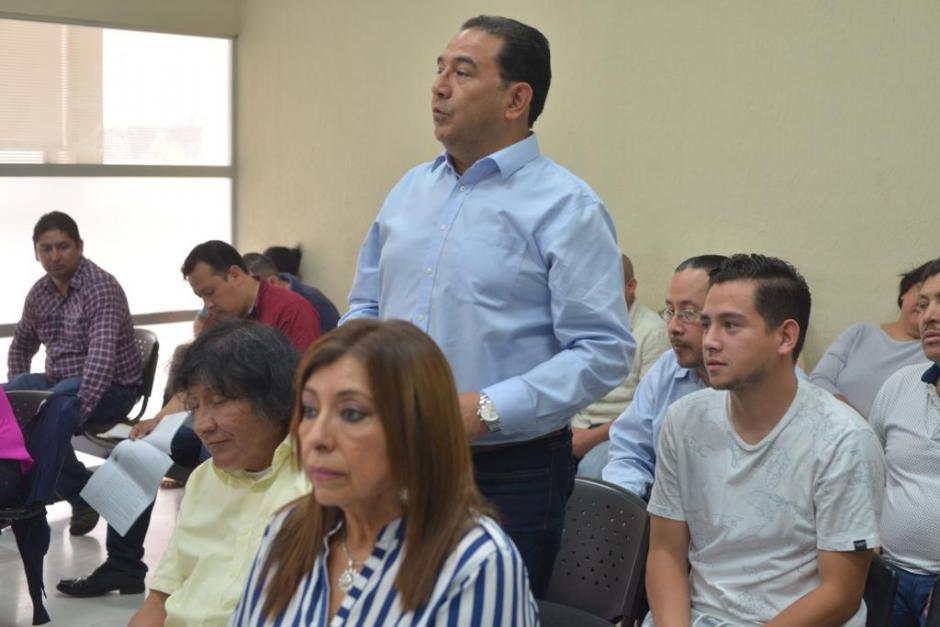 Se llevó a cabo la audiencia 98 del juicio en contra de 25 personas acusadas de un supuestos fraude en el Registro de la Propiedad, entre ellas el hermano e hijo del presidente Jimmy Morales. (Foto: Jesús Alfonso/Soy502)