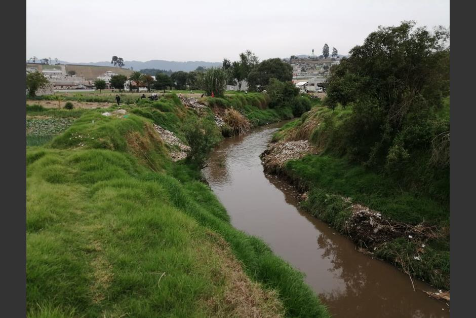 El río Xequijel se había convertido en un caudal abarrotado por los desechos. (Foto: Ministerio de Ambiente)