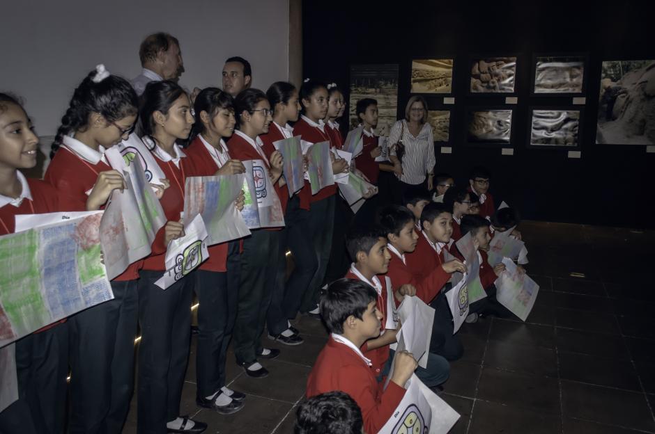 La exposición posee actividades interactivas para que los niños disfruten y aprendan.