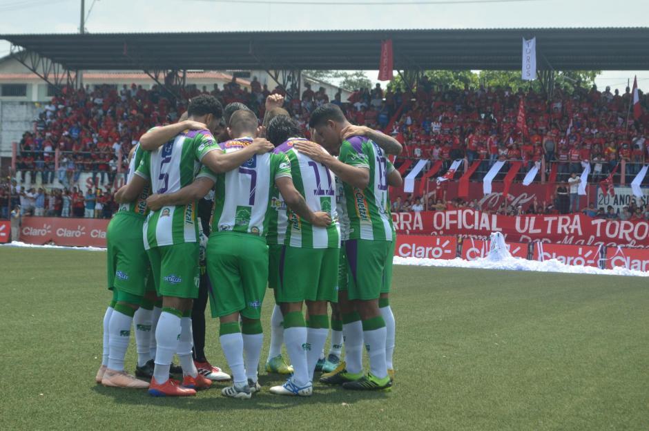 Antigua llegará con ventaja en el partido de vuelta que se disputará en su estadio el próximo domingo. (Foto: Rudy Martínez/Soy502)