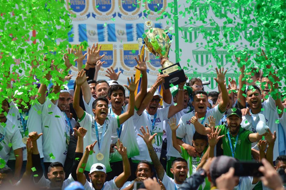 Antigua GFC conquista su cuarto campeonato de Liga Nacional