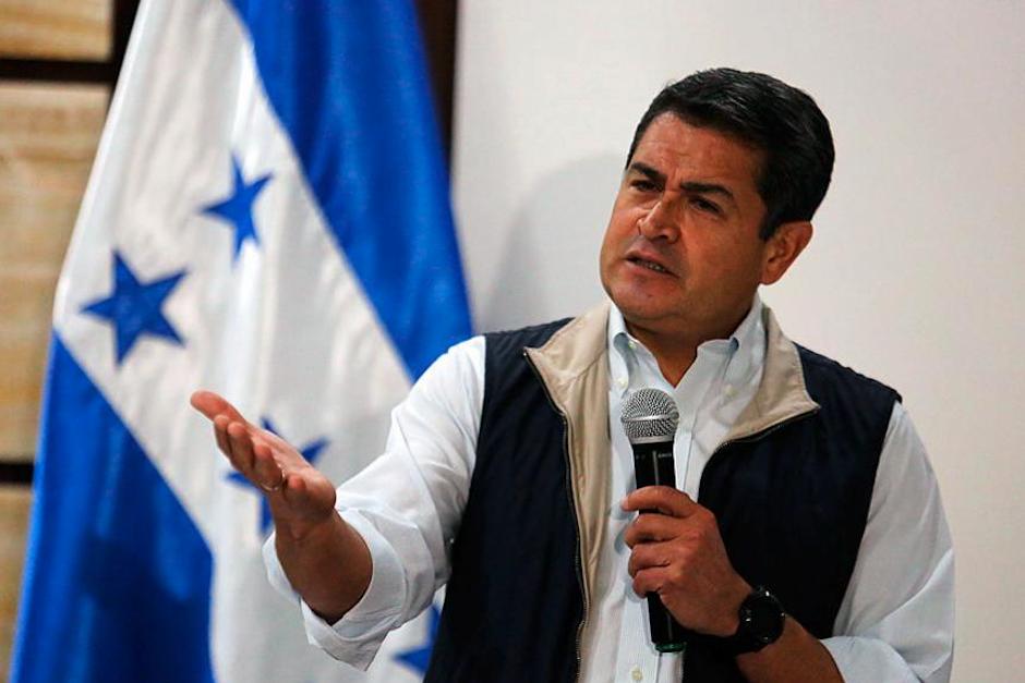 Presidente de Honduras en la mira de EE. UU. por narcotráfico
