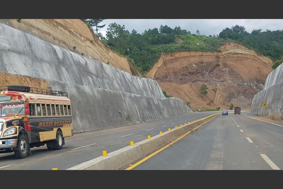 Los trabajos aún no concluyen en el Libramiento de Chimaltenango. (Foto:Stef Arreaga/Prensa Comunitaria)