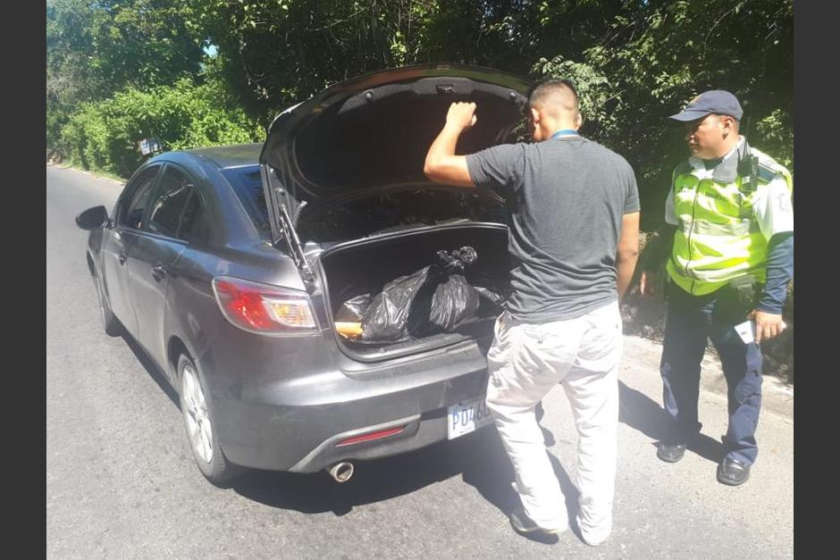 El conductor recibió una multa de 300 quetzales. (Foto: Municipalidad de Mixco)