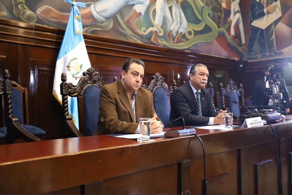 El diputado Manuel Conde no accedió a que se escuchara la llamada en la sesión de la comisión. (Foto: Congreso)