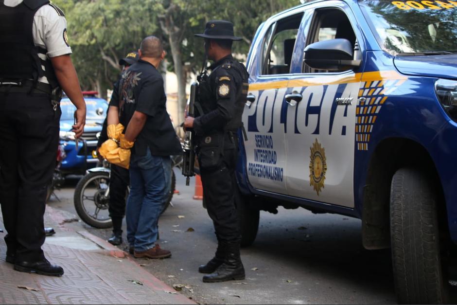 """Elmer Gustavo Santos Donis, alias """"El Gordo"""", es acusado de un ataque armado en zona 21. (Foto: PNC)"""