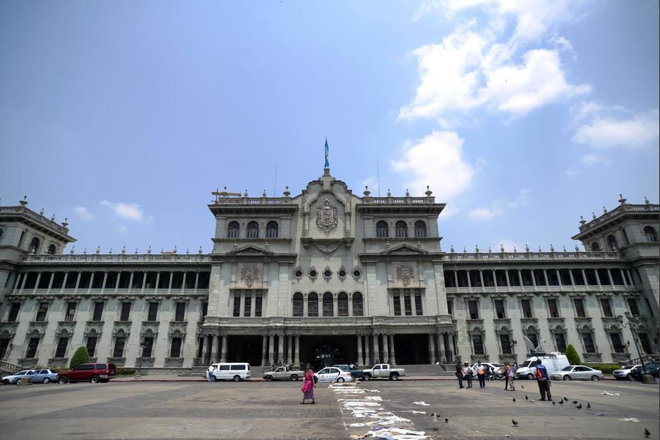 En el interior del Palacio Nacional se ubican oficinas del Ministerio de Cultura y Deportes. (Foto: Archivo/Soy502)