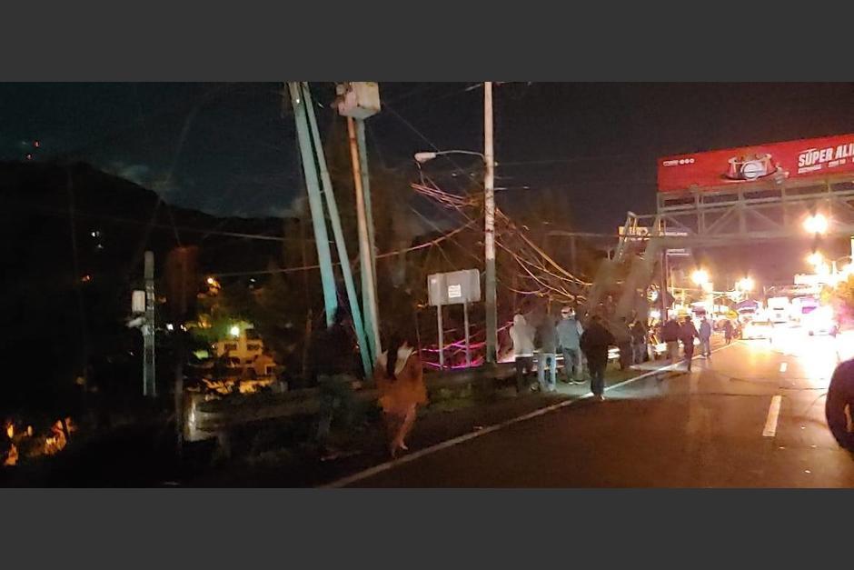 El accidente se reportó en horas de la madrugada de este lunes. (Foto: StarNews)
