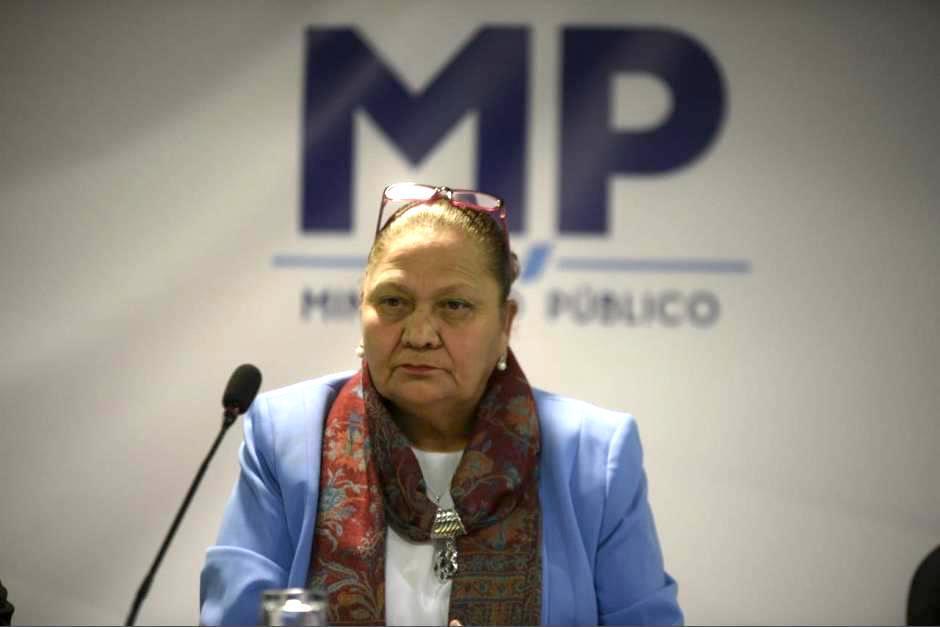 La fiscal General Consuelo Porras decidió retirar la seguridad a la exjefa del MP, Thelma Aldana. (Foto: Archivo/Soy502)