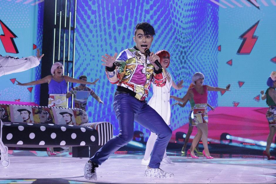 El representante de Guatemala puso a bailar a todo el mundo con su interpretación. (Foto: La Academia)