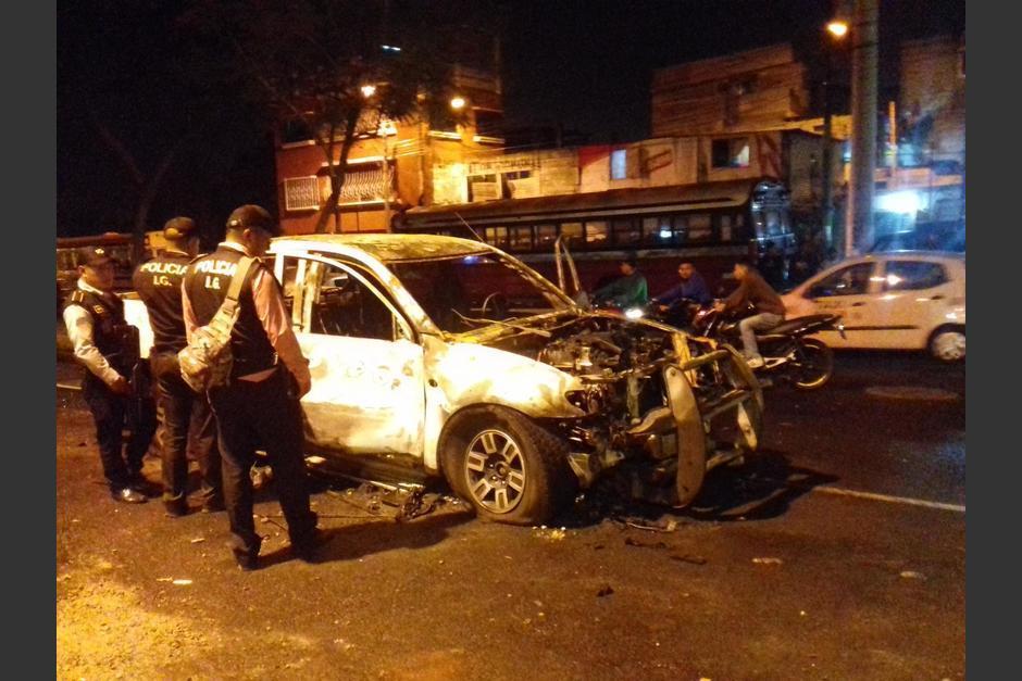 El Ministro de Gobernación explicó que se encuentran investigando a los ciudadanos que causaron daños públicos. (Foto: Archivo/Soy502)
